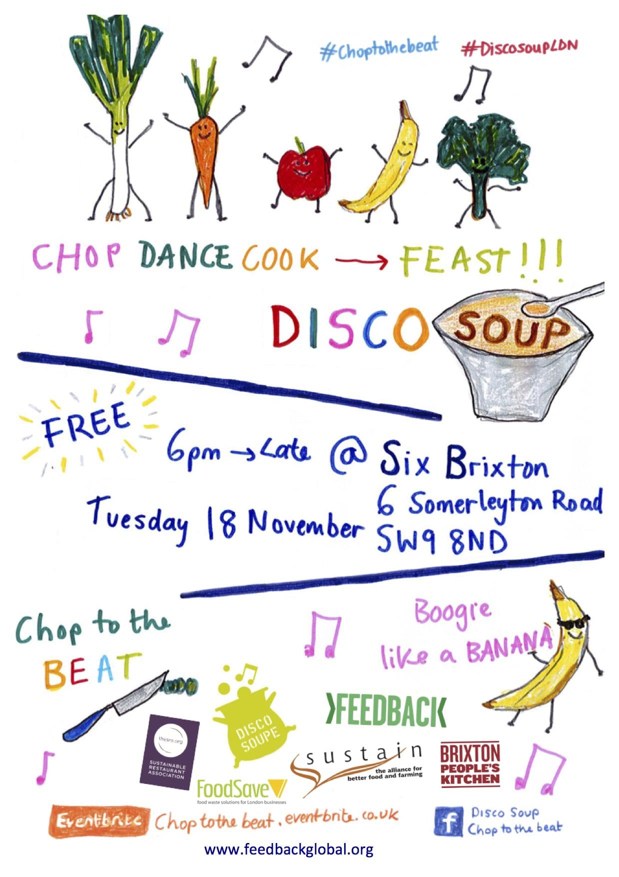 Disco Soup London All logos