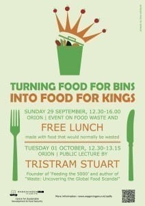 Feed the 500 WageningenPOSTER_Food waste events