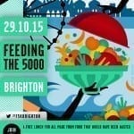 Feeding the 5000 Brighton