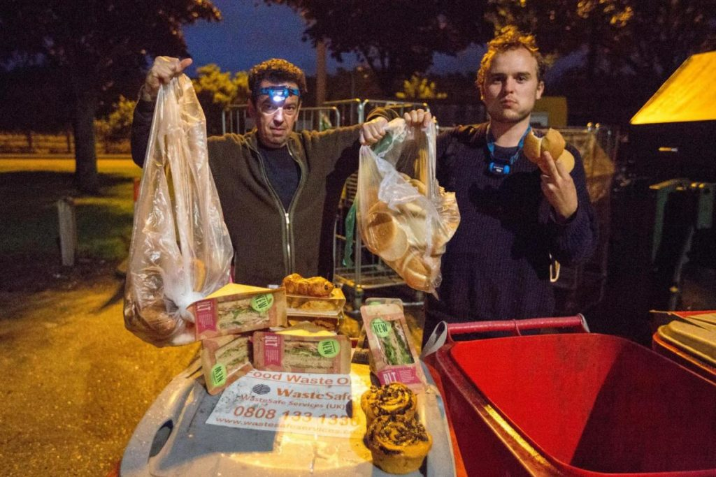 Feedback expose food waste in supermarket bins with the Evening Standard.