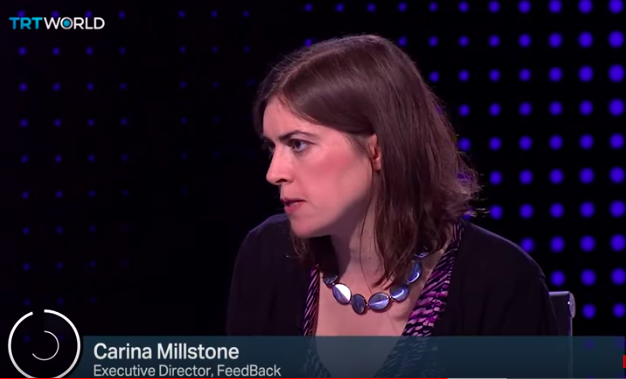 Carina Millstone discusses the problem of food waste on Roundtable